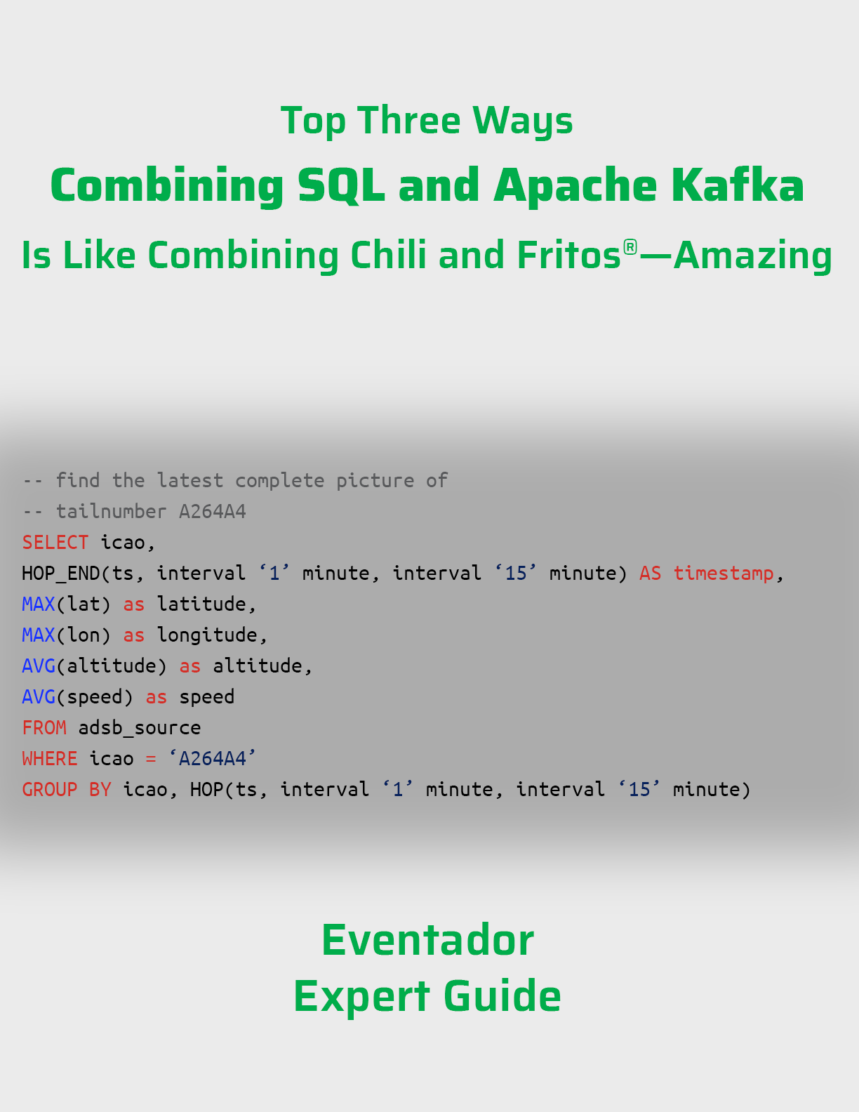 Expert Guide: Top 3 Ways Combining SQL and Apache Kafka is Amazing